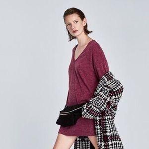 Zara | Long Sleeve Sweater Dress